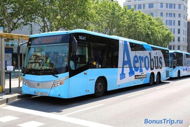 Как добраться до города из аэропорта Барселоны А1