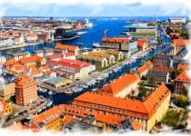 Копенгаген из Варшавы
