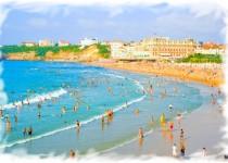 Grande Plage, Biarritz, Aquitaine, France