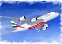 Скидки на самолеты Emirates