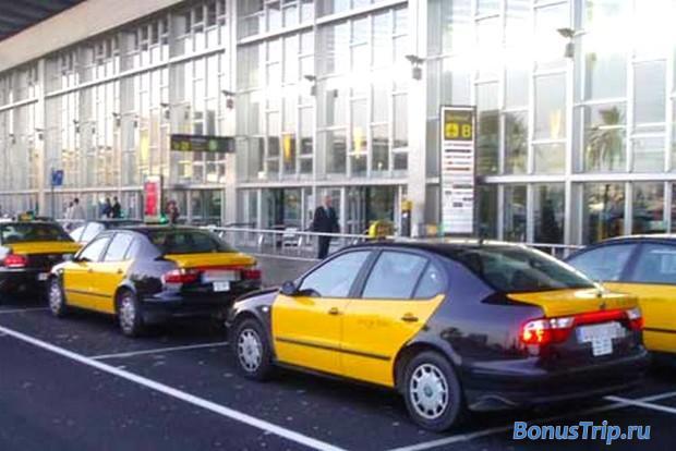 Такси из аэропрота Барселоны 4
