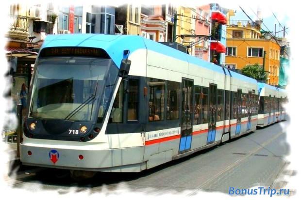 Как добраться до аэропорта Ататюрк - скоростной трамвай на линии T1