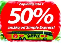 скидка 50% Simple Express may