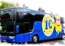 дешевые автаобусы Megabus Кельн-Барселона