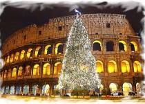 Рим из Москвы Новый год