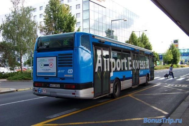 Как добраться из аэропорта Праги в город - Airport Express