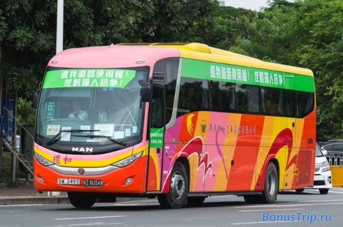 Как добраться из Гонконга в Макао на автобусе Chinalink