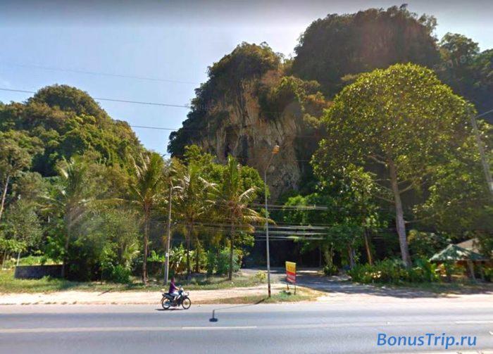 Автомобильная дорога из Бангкока в Краби